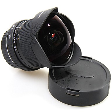 [$325.99] 6.5MM Full Frame F3.5 APS HD Ultra Wide-Angle Lens Fisheye Lens for Canon