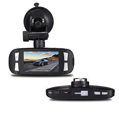 h200 1080p / Full HD 1920 x 1080 Full HD / HD Auto DVR 120 graden Wijde hoek 5MP CMOS 2.7 inch(es) LCD Dash Cam met G-Sensor 1 infrarood