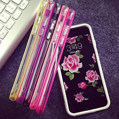 voordelige iPhone 6 Plus hoesjes-hoesje Voor Apple iPhone 8 Plus / iPhone 8 / iPhone 7 Plus Transparant Bumper Effen Zacht TPU