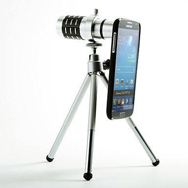 Detașabil 12X Telephoto Lens Set cu Hotărârea Înapoi pentru Samsung Galaxy S4 I9500