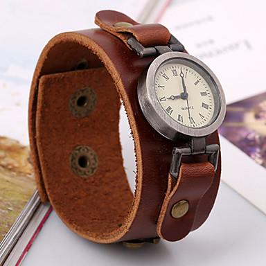 pánské vintage kožený pásek hodinky 3019427 2019 – €14.99 67ed0e829e7