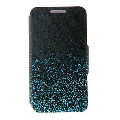 voordelige Galaxy A5 Hoesjes / covers-hoesje Voor Samsung Galaxy A8 / A7 / A5 Kaarthouder / met standaard / Flip Volledig hoesje Kleurgradatie PU-nahka