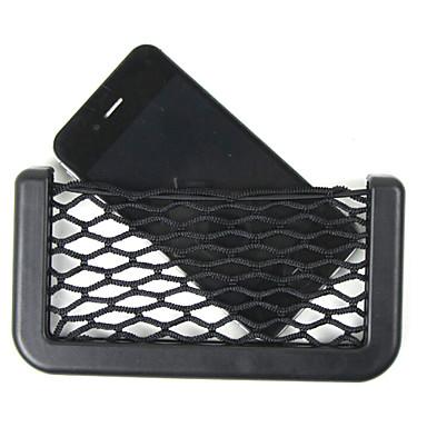 voordelige Auto-organizers-auto netto-organisator zakken auto bagagenet 14.5x8cm automotive zak doos lijm vizier auto zak voor gereedschap mobiele telefoon