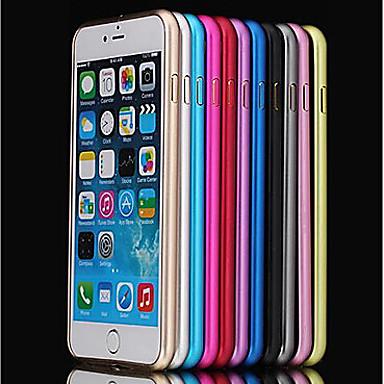 Недорогие Кейсы для iPhone 7 Plus-Кейс для Назначение Apple iPhone 8 Pluss / iPhone 8 / iPhone 7 Plus Защита от удара / Ультратонкий Бампер Однотонный Твердый Металл