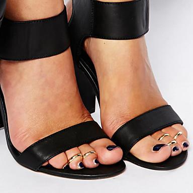 olcso Lábujj ékszerek-Női Testékszer Toe Ring Ezüst / Aranyozott Egyedi / minimalista stílusú / Divat Ötvözet Jelmez ékszerek Kompatibilitás Napi / Hétköznapi Nyár
