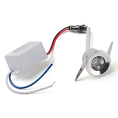 olcso Beltéri lámpák-ZDM® 1db 1 W LED szpotlámpák 100-130 lm 1 LED gyöngyök Nagyteljesítményű LED Imádni való Hideg fehér 85-265 V / 1 db. / RoHs