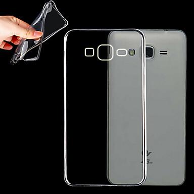 Недорогие Чехол Samsung-Кейс для Назначение SSamsung Galaxy Grand Prime Прозрачный Кейс на заднюю панель Однотонный ТПУ