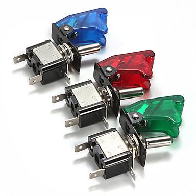 غطاء السيارة أدى SPST تبديل الروك مفتاح تحكم 12V 20A / إيقاف (1 قطعة)