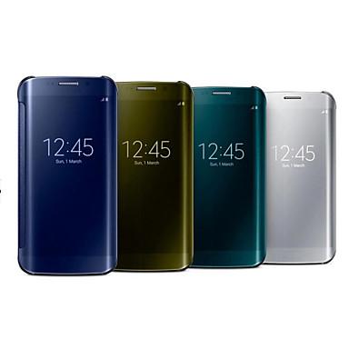 Недорогие Чехлы и кейсы для Galaxy Note 4-Кейс для Назначение SSamsung Galaxy Note 4 Зеркальная поверхность Чехол Однотонный ПК