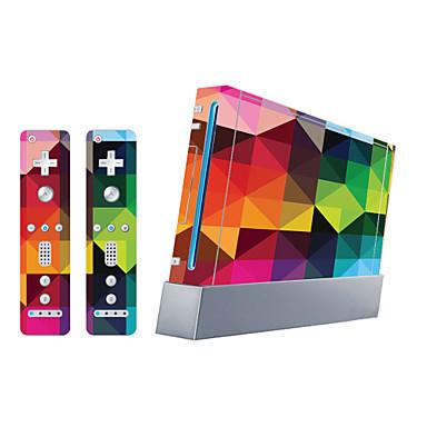 baratos Bolsas & Capas Wii U-B-SKIN Adesivo Para Wii U / Wii ,  Novidades Adesivo PVC 1 pcs unidade