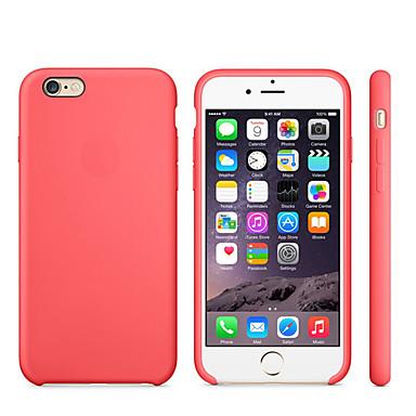 Недорогие Кейсы для iPhone 7-Кейс для Назначение Apple iPhone 8 Pluss / iPhone 8 / iPhone 7 Plus Защита от удара Кейс на заднюю панель Однотонный Мягкий Силикон