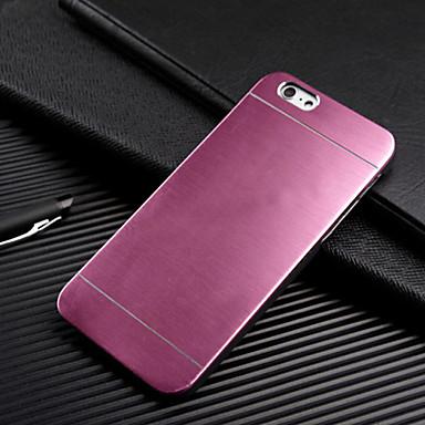 voordelige iPhone 5 hoesjes-hoesje Voor Apple iPhone 7 Plus / iPhone 7 / iPhone 6s Plus Ultradun Achterkant Effen Hard Metaal