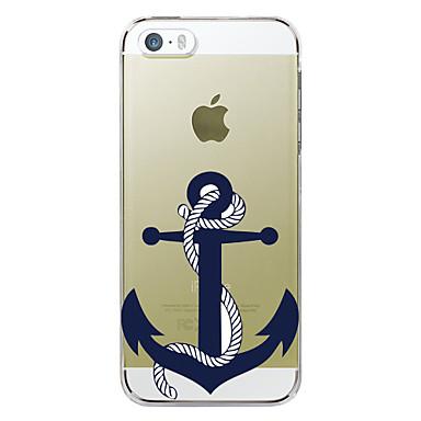 voordelige iPhone 6 hoesjes-hoesje Voor Apple iPhone 7 Plus / iPhone 7 / iPhone 6s Plus Patroon Achterkant Cartoon / Anker Hard TPU