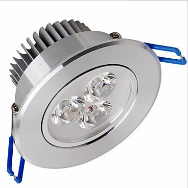 zdm 1 pc ściemnialna 3x2 w wysokiej mocy lampa led 500-550 lm led sufitowe wpuszczone retrofit diody LED ciepły biały zimny biały ac 110v ac 220v