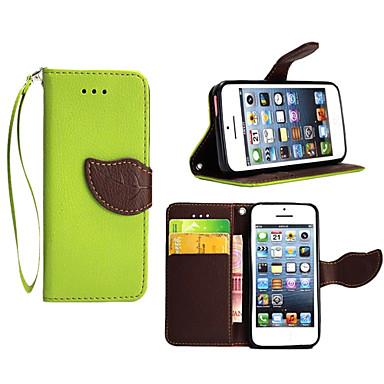 Недорогие Кейсы для iPhone-Кейс для Назначение Apple iPhone X / iPhone 8 Pluss / iPhone 8 Кошелек / Бумажник для карт / со стендом Чехол Однотонный Твердый Кожа PU