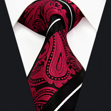 06d67c4b7ac sl8 shlax amp krila crvena Paisley crna muška kravata kravate vjenčanje  modni svila extra dugo iz 3278944 2019 . – €16.99