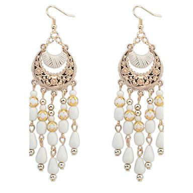 povoljno Naušnice-Žene Personalized Moda Euramerican Imitacija bisera Naušnice Jewelry Crn / Crvena / Plava Za Vjenčanje Special Occasion