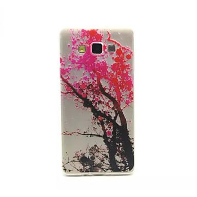 Samsung Galaxy A7 Için Kabartma Boyama Kiraz Ağacı Model 02 Ince