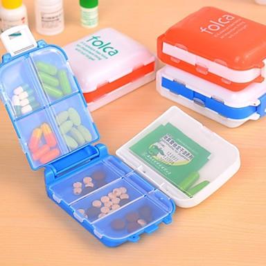 Недорогие Все для здоровья и личного пользования-японский стиль 8 пространства печать складные коробки медицина случайный цвет