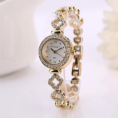 9555f23e44a mulheres moda vestir relógios strass relógio feminino relogio rose ...