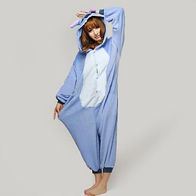 Odrasli Kigurumi plišana pidžama Monster Plavi čudovište Sa životinjama Onesie pidžama Flis Cosplay Za Muškarci i žene Zivotinja Odjeća Za Apavanje Crtani film Festival / Praznik Kostimi
