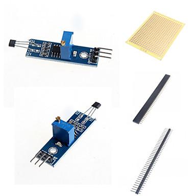 abordables Détecteurs-interrupteurs et accessoires pour Arduino de module de capteur du module capteur à effet Hall