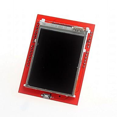 """olcso Alaplapok-DIY 2.4 """"TFT LCD érintőképernyő pajzs bővítőkártya az Arduino uno"""