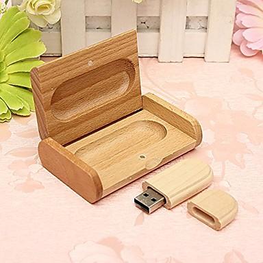 الخشب جميل نموذج USB 2.0 ذاكرة فلاش حملة القلم القرص driveu التجربة حملة 16GB