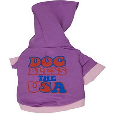 رخيصةأون ملابس وإكسسوارات الكلاب-قط كلب المعاطف هوديس الشتاء ملابس الكلاب كوستيوم قطن الكوسبلاي XS S M L