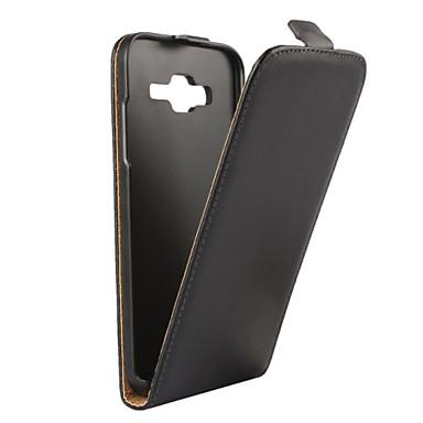 voordelige Galaxy J-serie hoesjes / covers-hoesje Voor Samsung Galaxy J5 (2016) / J5 / J3 (2016) Flip Volledig hoesje Effen PU-nahka