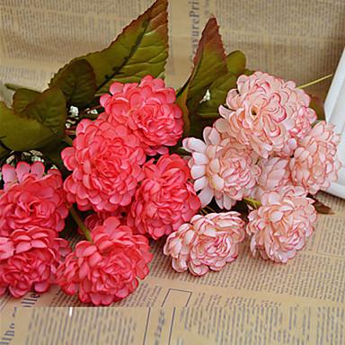 زهور اصطناعية 1 فرع Wedding Flowers أقحوان أزهار الطاولة