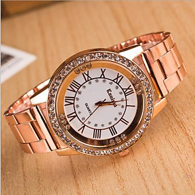 olcso Újdonságok-Női Luxus karórák Karóra Diamond Watch Kvarc Analóg hölgyek Amulett Divat Csing Csing - Aranyozott Vörös arany Ezüst Egy év Akkumulátor élettartama / SSUO LR626