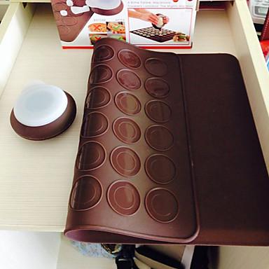 رخيصةأون أدوات الفرن-1PC بلاستيك كعكة قوالب الكيك أدوات خبز
