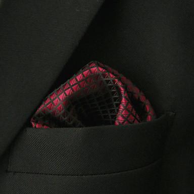 ربطة العنق لون سادة / ألوان متناوبة رجالي - أساسي حفلة / أساسي