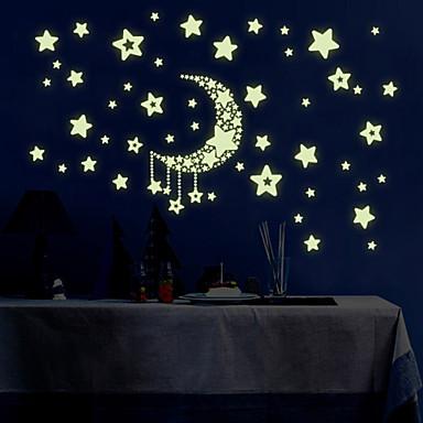 Pejzaž Romantika Moda Oblici Crtani film Fantazija Zid Naljepnice Svjetleće zidne naljepnice Dekorativne zidne naljepnice Visina