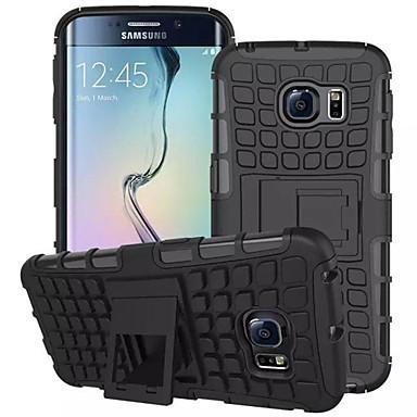 Недорогие Чехлы и кейсы для Galaxy S-Кейс для Назначение SSamsung Galaxy S8 Plus / S8 / S7 edge Кошелек / Защита от удара / со стендом Кейс на заднюю панель броня ПК