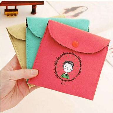Недорогие Все для здоровья и личного пользования-винтажный стиль детства подпись хлопка гигиенических салфеток сумка (ассорти цветов)
