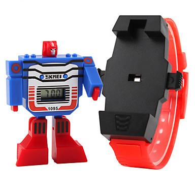 رخيصةأون ساعات النساء-SKMEI ساعة رقمية كوارتز رقمي مطاط أزرق / أحمر / رمادي رزنامه LCD رقمي كرتون موضة - أصفر أحمر أزرق سنتان عمر البطارية / Maxell626 + 2025