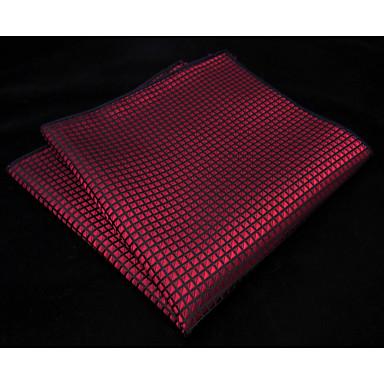 رخيصةأون ربطات العقدة-ربطة العنق لون سادة / ألوان متناوبة رجالي - أساسي حفلة / أساسي