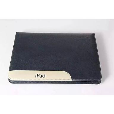 Θήκη Za Apple iPad 4/3/2 Utor za kartice / sa stalkom Korice Životinja / Sova prava koža