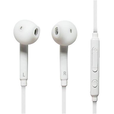 رخيصةأون سماعات الأذن السلكية-سماعة سلكية 3.5 ملم في الأذن للهاتف المحمول السلكي مع ميكروفون مع التحكم في مستوى الصوت