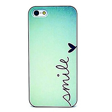 voordelige iPhone-hoesjes-hoesje Voor iPhone 5 / Apple iPhone SE / 5s / iPhone 5 Achterkant Woord / tekst Hard PC