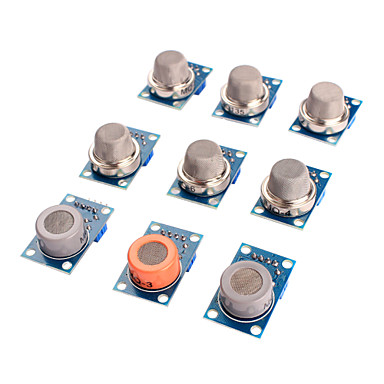 olcso Szenzorok-gázérzékelő MQ-2 nm-3 nm-4 MQ-5 nm-6 nm-7 MQ-8 nm-9 nm-135 érzékelő készlet modul Arduino