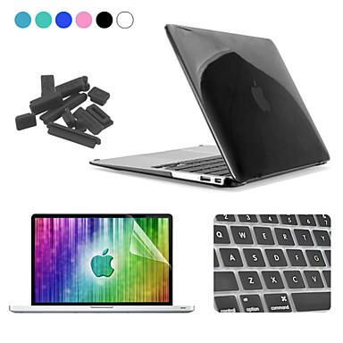 MacBook Slučaj / Kombinirana zaštita Prozirno / Jednobojni plastika za MacBook Air 13