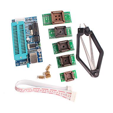 olcso Alaplapok-pic K150 programozó USB automatikus programozás PLCC IC tesztelés ülés adapter készlet fejleszteni mikrokontroller