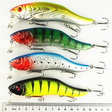 8 pcs Plevușcă Δόλωμα Plevușcă Scufundare Bass Păstrăv Ştiucă Pescuit mare Pescuit de Apă Dulce Momeală pescuit Plastic Dur