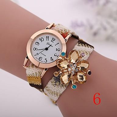 2bf47b300 2015 جديد الموضة للنساء الساعات الذهبية السيدات ساعة اليد ساعات الكوارتز  جنيف زهرة سوار xr1269 4052229 2019 – €5.99
