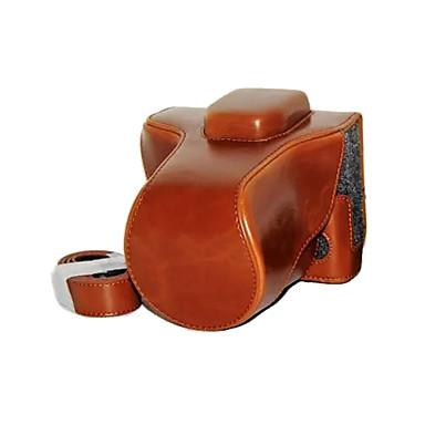 olcso Tokok-dengpin pu bőrből készült tok táska fedezetet FUJIFILM x-t10 XT10 (vegyes színek)