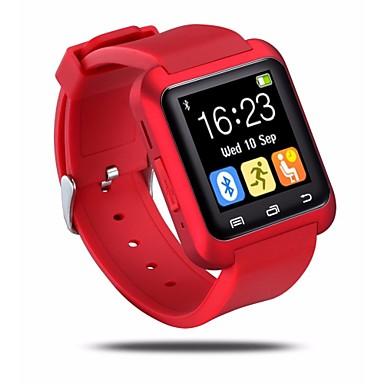 رخيصةأون ساعات ذكية-سمارت ووتش إلى iOS / Android حالة الذكية / مكالمات بدون يد / شاشة لمس / عداد الخطى / التحكم بالرسائل متتبع النوم / أجد هاتفي / التحكم بالكاميرا / مكافحة خسر / رياضات