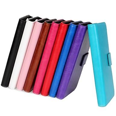 Недорогие Чехлы и кейсы для Sony-Кейс для Назначение Sony Z5 / Sony Xperia Z3 Compact / Sony Xperia M2 Sony Xperia Z3 Compact / Sony Xperia Z5 / Sony Xperia Z5 Compact Кошелек / Бумажник для карт / со стендом Чехол Однотонный Твердый